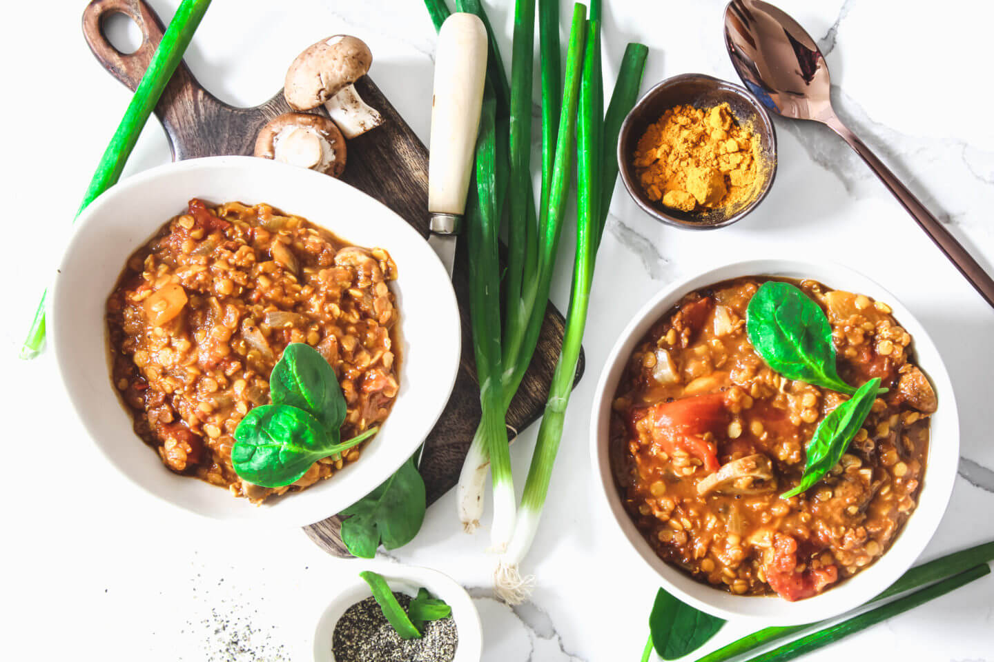 Sustainable and Plant-based Lifestyle influencer shares her delicious Namaste Lentil soup recipe!
