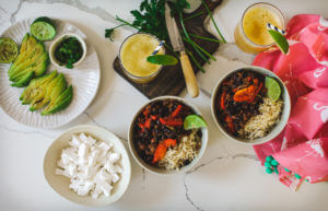 Sustainable & Healthy Lifestyle blogger, Sanza, shares her amazing Gluten-free Taco Bowl recipe!