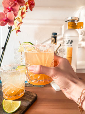 The healthy lifestyle blogger shares the perfect and healthy margarita recipe!