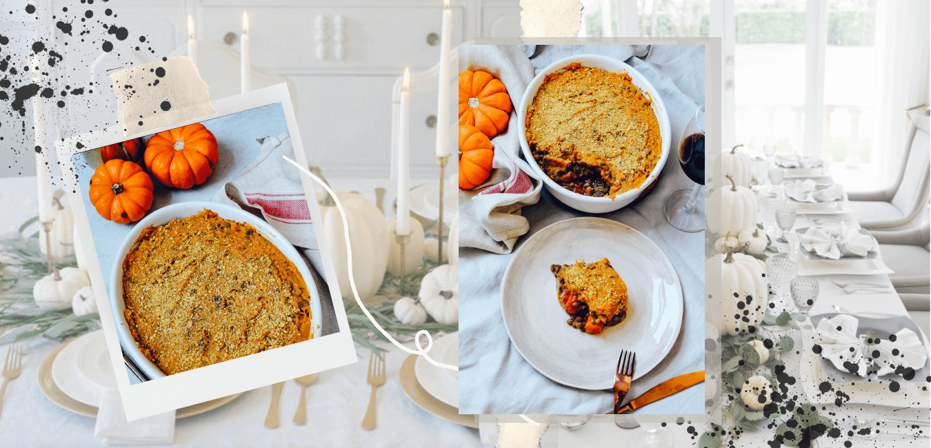 Sustainable and Vegan Lifestyle influencer shares an easy Thanksgiving dinner recipe !!