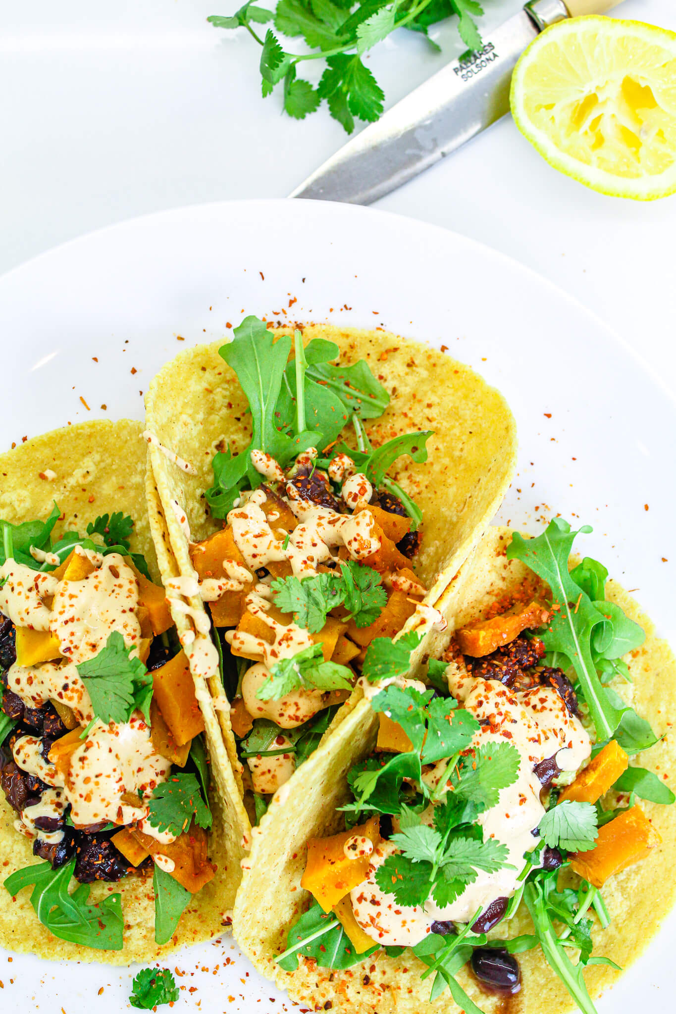 Sustainable and Plant-based Lifestyle influencer shares her delicious Sweet Potato Street Tacosrecipe!