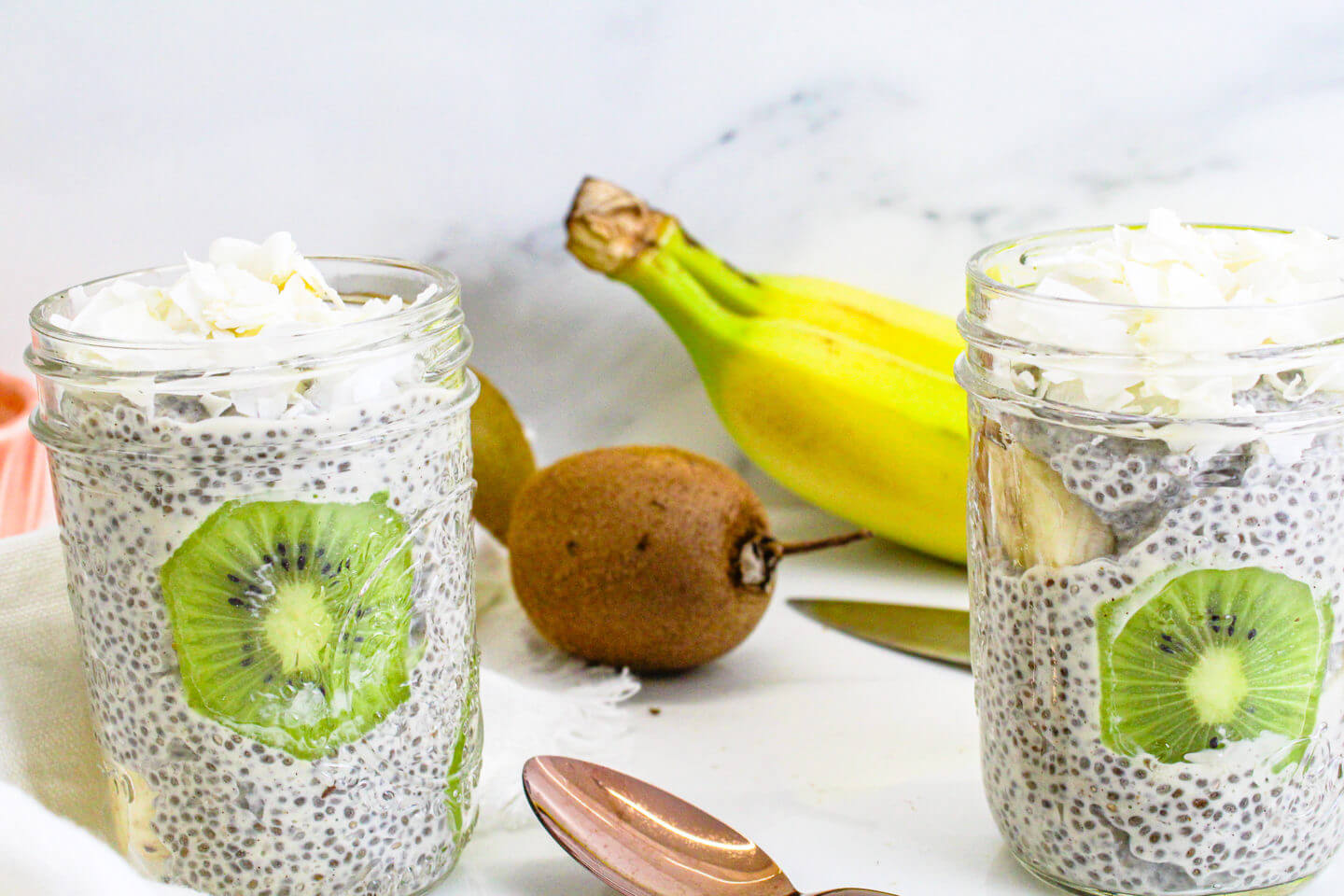 Sustainable and Plant-based Lifestyle influencer shares her delicious Spring Chia pudding recipe recipe!
