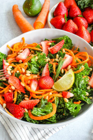 Sustainable and Plant-based Lifestyle influencer shares her delicious May's Salad recipe recipe!