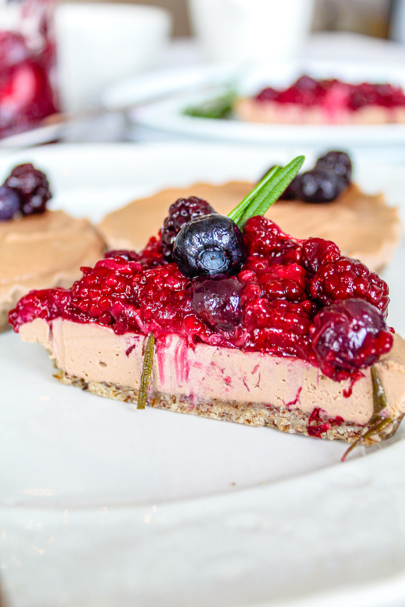 Sustainable and Plant-based Lifestyle influencer shares her delicious chocolate cherry cake recipe!
