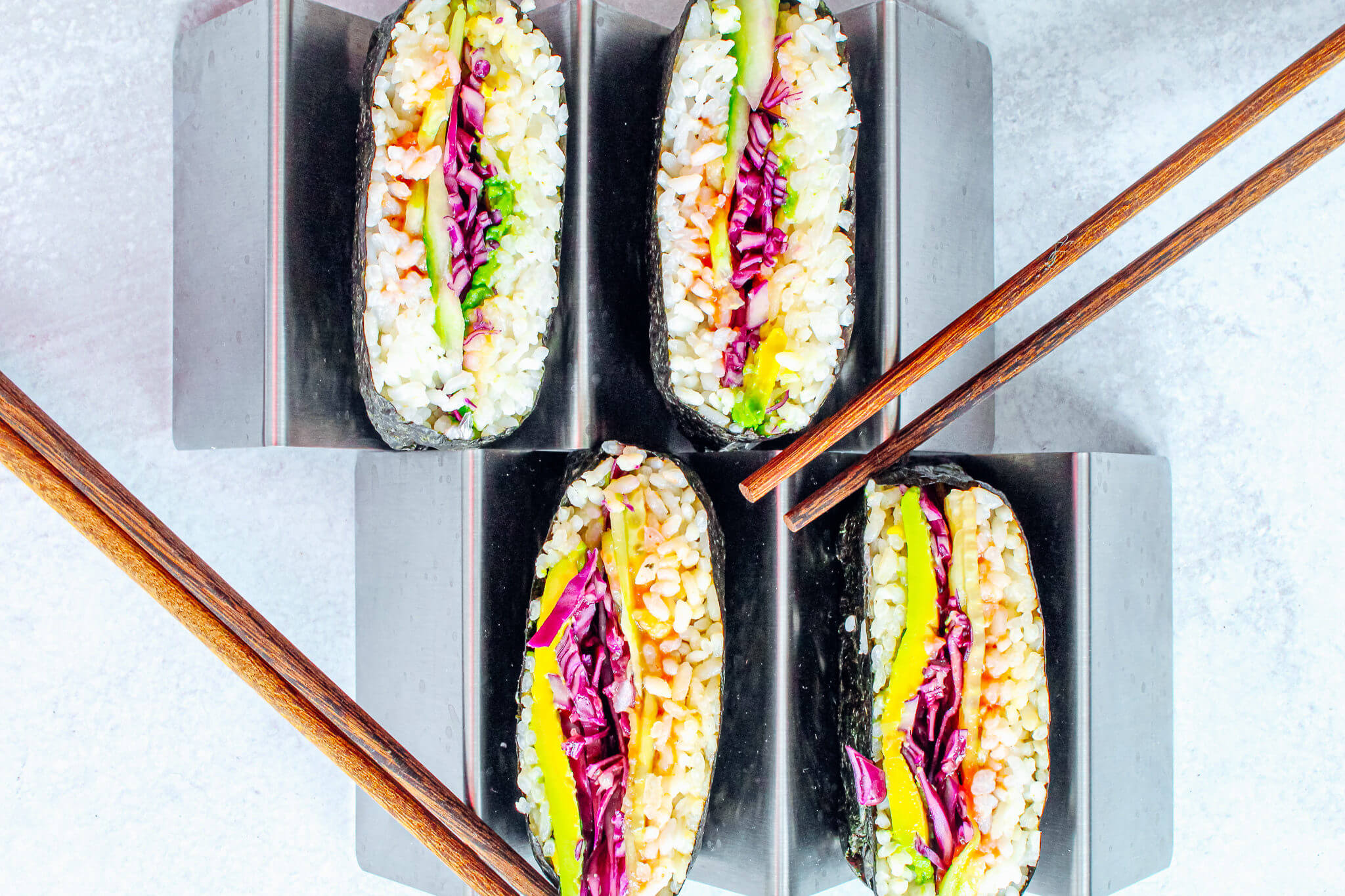 Sustainable and Plant-based Lifestyle influencer shares her delicious sushi sandwich  recipe!