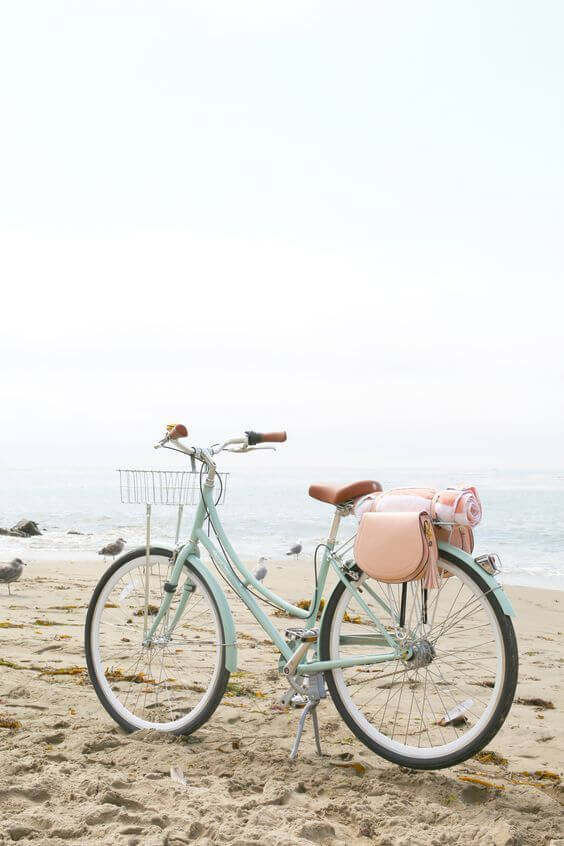 Let's Reduce Carbon Footprint by Cycling! by Sanzas Chic Kitchen!