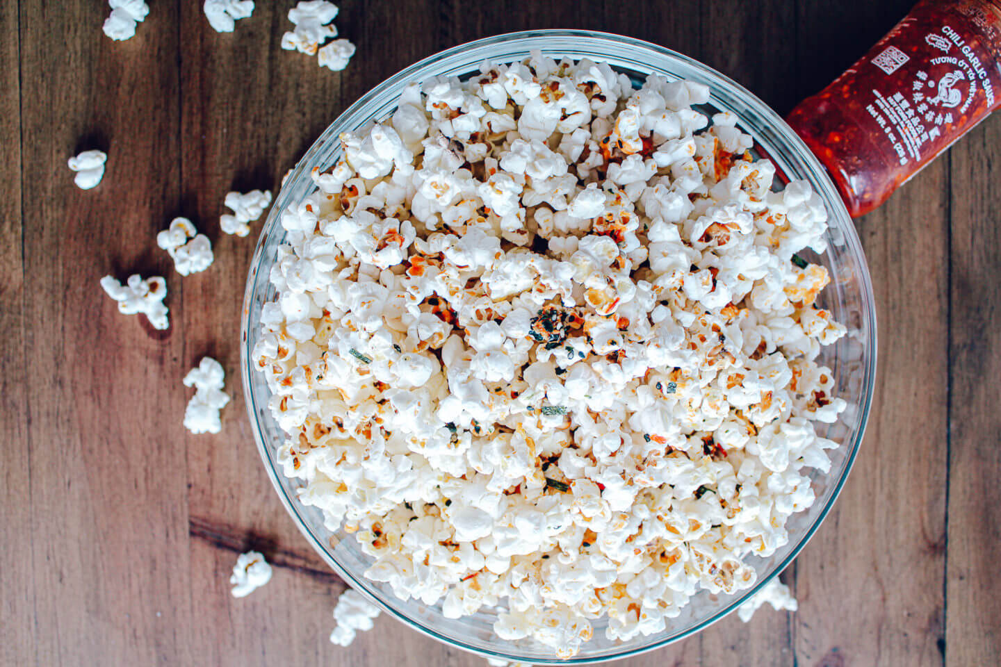 Sustainable and Plant-based Lifestyle influencer shares her delicious Spicy Seaweed Popcorn recipe!