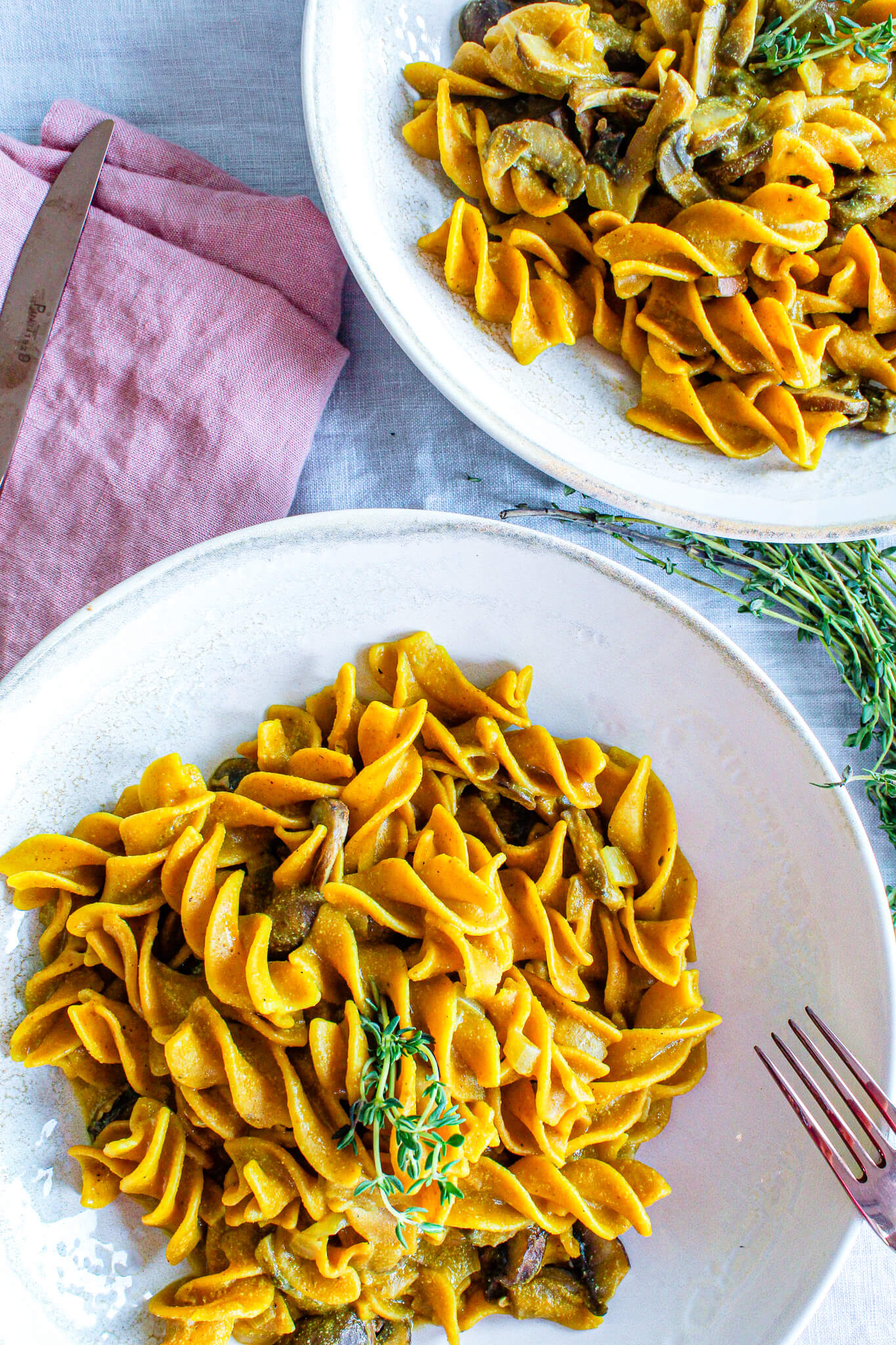 Sustainable and Plant-based Lifestyle influencer shares her delicious porcini pasta risotto recipe!