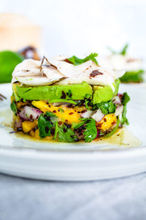 Sustainable and Plant-based Lifestyle influencer shares her delicious TROPICAL VEGAN CEVICHE recipe